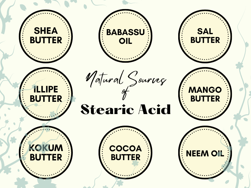 Natural Sources of Stearic Acid